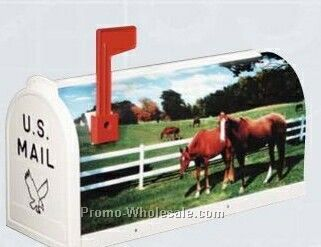 Scenic Decor Series Mailboxes - Horse (Blank)