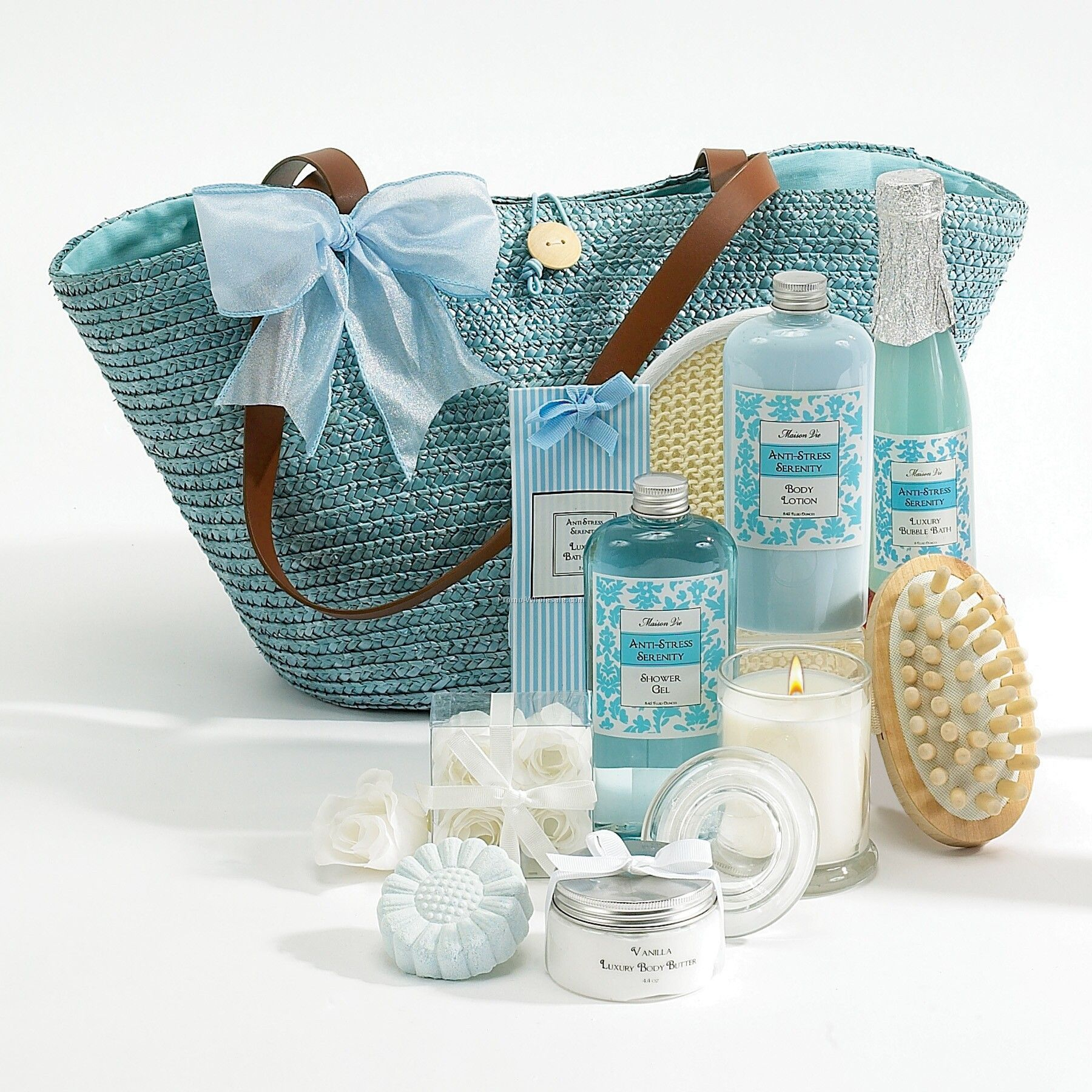 Spa-on-the-go Tote