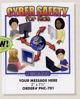 "Stock Design Safety Theme Coloring Book - Cyber Safety (8-1/2""x11"")"
