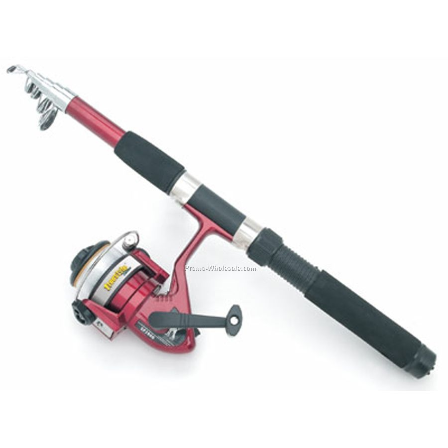 Trail Worthy Telescoping Rod & Reel Set