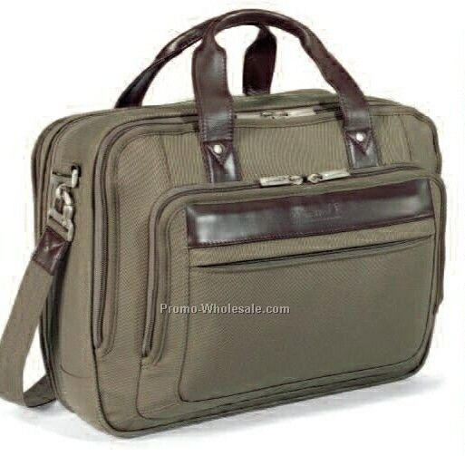 Travis & Wells Classic Expandable Computer Brief