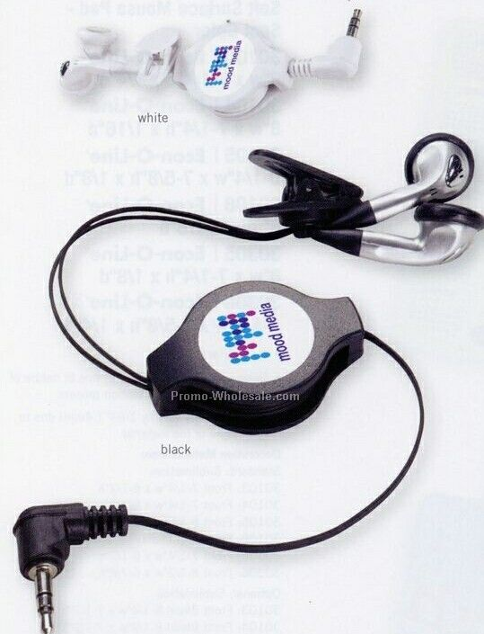 V-line Retractable Earphone