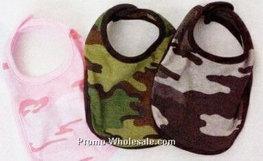Baby Bib (One Size Fits Most) Camouflage