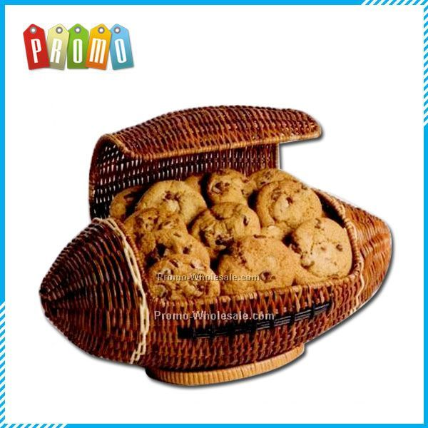 Football Cookie Gift Basket