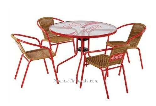 Aluminum furniture,table and chair set