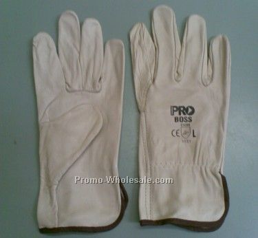 Cow Grain Cow Leather Working gloves,industrial leather hand gloves