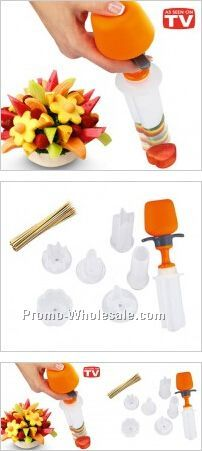 Pop Chef DIY Creative Fresh Fruit Arrangement Kit, Kitchen and Cooking