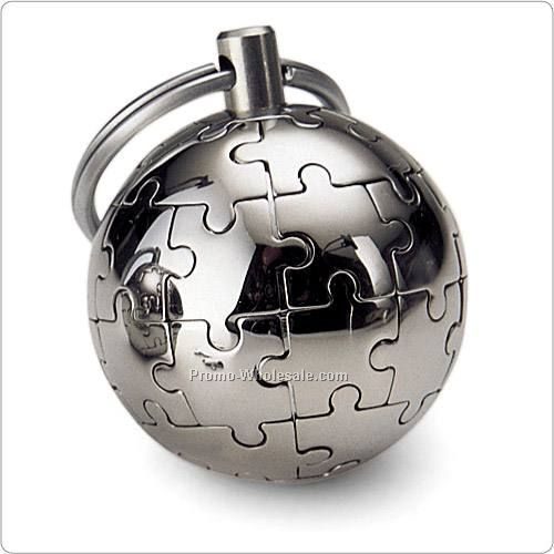 Mini Mondo Magnetic World Puzzle Keychain