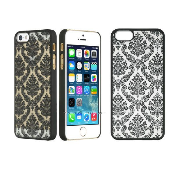 New Nylon Lace Design Rubber Cell Phone Case