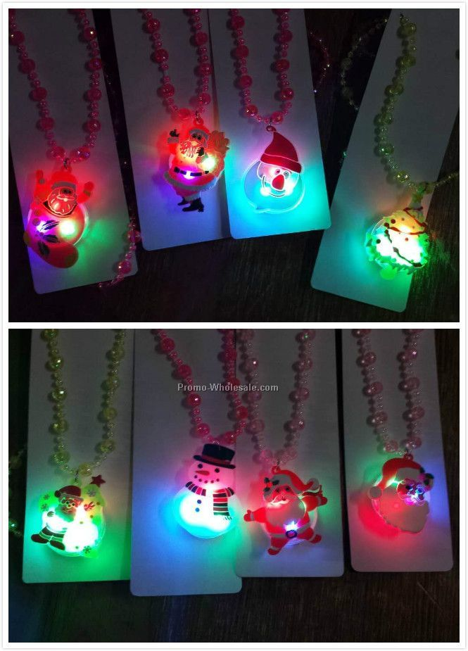 LED necklace for Christmas and holiday