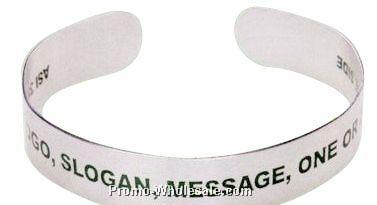 New Form Fitting Wrist Band Bracelet