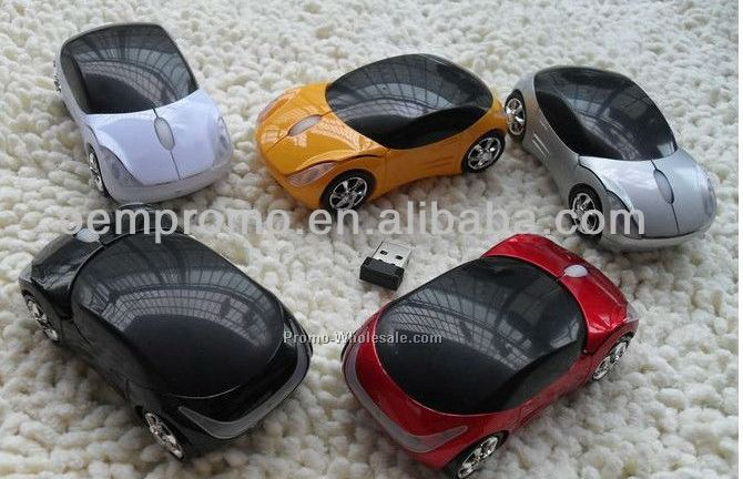 Plastic wireless car mouse