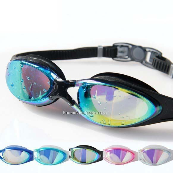 Color eyeshield swimming goggles