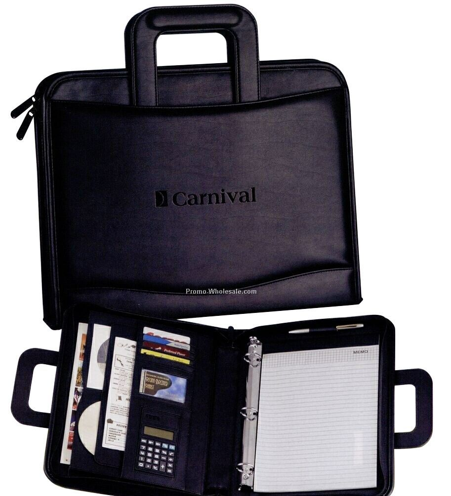 The Counselor Portfolio With Binder/ Notepad/ Calculator