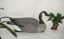 The Judge Full Body Goose Decoy - Feeding Flocked