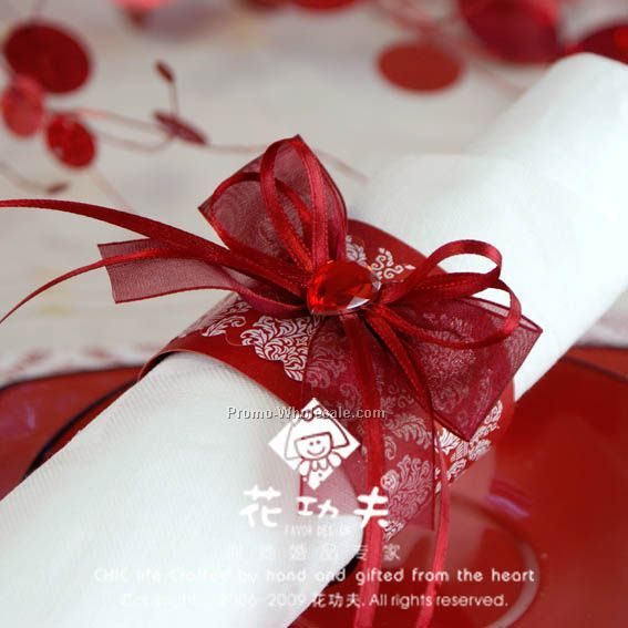small napkin rings wedding favors - Wedding Napkin Rings