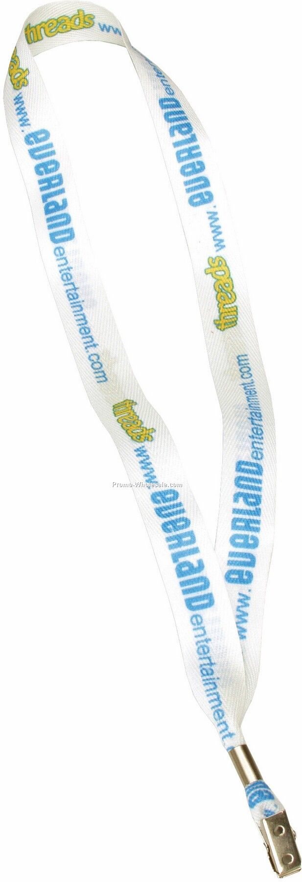 "1"" Sublimated Ribbon Lanyards"
