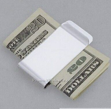 "1""x2"" Plain Money Clip"