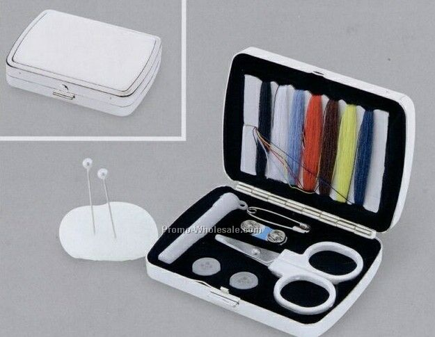 "2-1/4""x3"" Sewing Kit W/ Pouch"