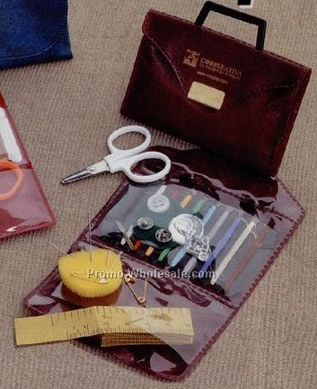 "2-3/8""x3-5/8"" Brief Case Style Vinyl Snap Sewing Kit"