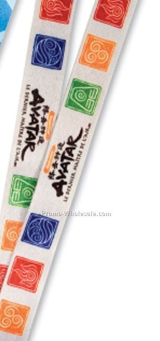 "3/4"" Sublimation Lanyard(Overseas 3-4 Weeks)"