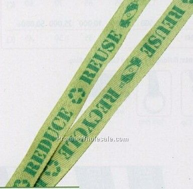 "3/8"" Recycled Sublimation Lanyard (Overseas 3-4 Weeks)"