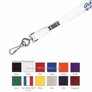 "3/8"" Upgrade - Custom 4 Day Fast Ship Lanyard W/ J Hook"