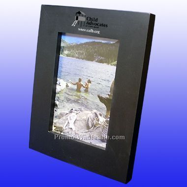 "5""x7"" Birch Wood Picture Frame - Lasered Engraved"