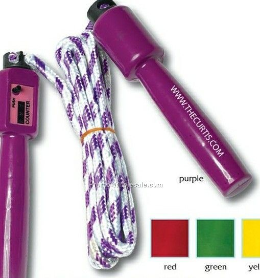 "7"", Jump Rope W/ Counter"