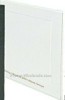 "8-1/2""x11"" White Horizontal Certificate Holder"