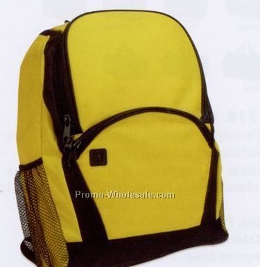 Academic Poly Canvas Backpack (1 Color)