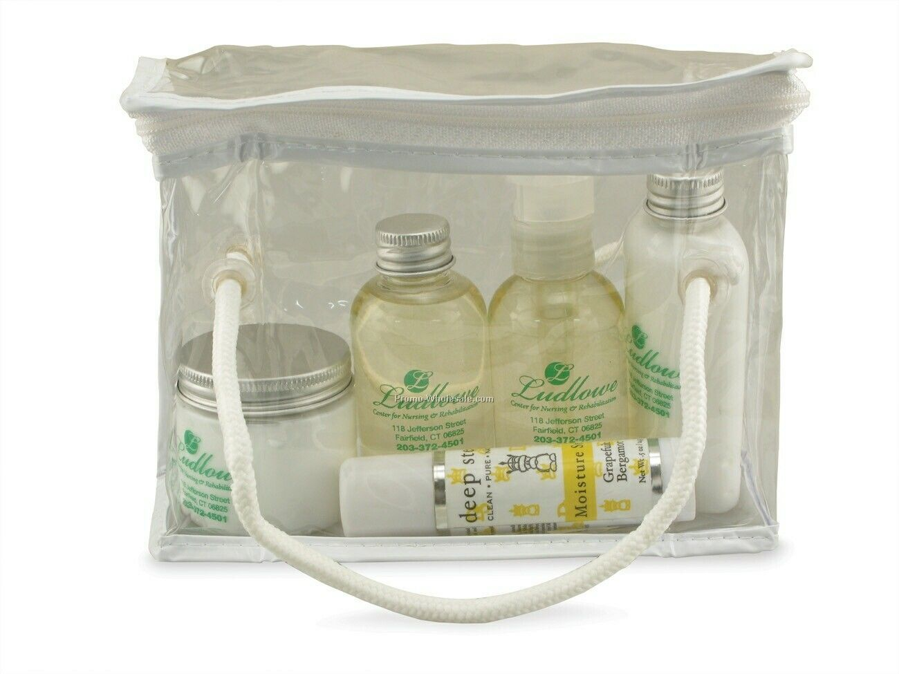 All Natural Bath & Body Set - Grapefruit & Bergamot.