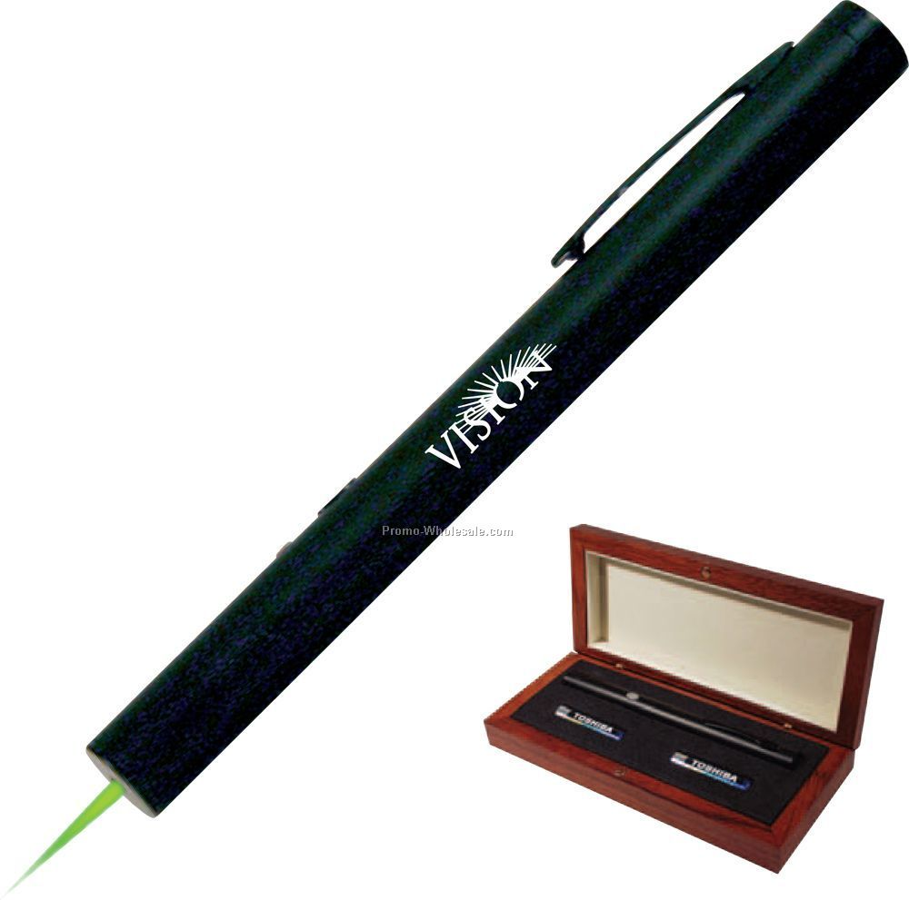 Alpec Lexus Green Laser Pointer - Black