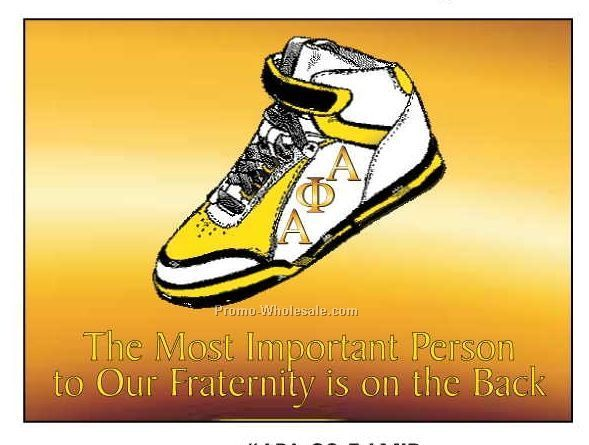 "Alpha Phi Alpha Fraternity Shoe Rectangle Photo Hand Mirror (2-1/2""x3-1/2"")"