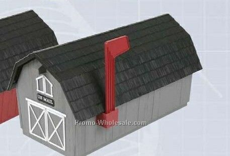 Barn Series Mailboxes - Gray (1 Color)