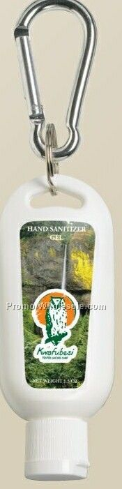 Bloc-aid Hand Sanitizer With Thumb Action Clip