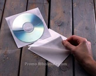 CD Adhesive Vinyl Sleeve - Full Size