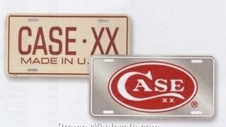 Case Xx License Plate