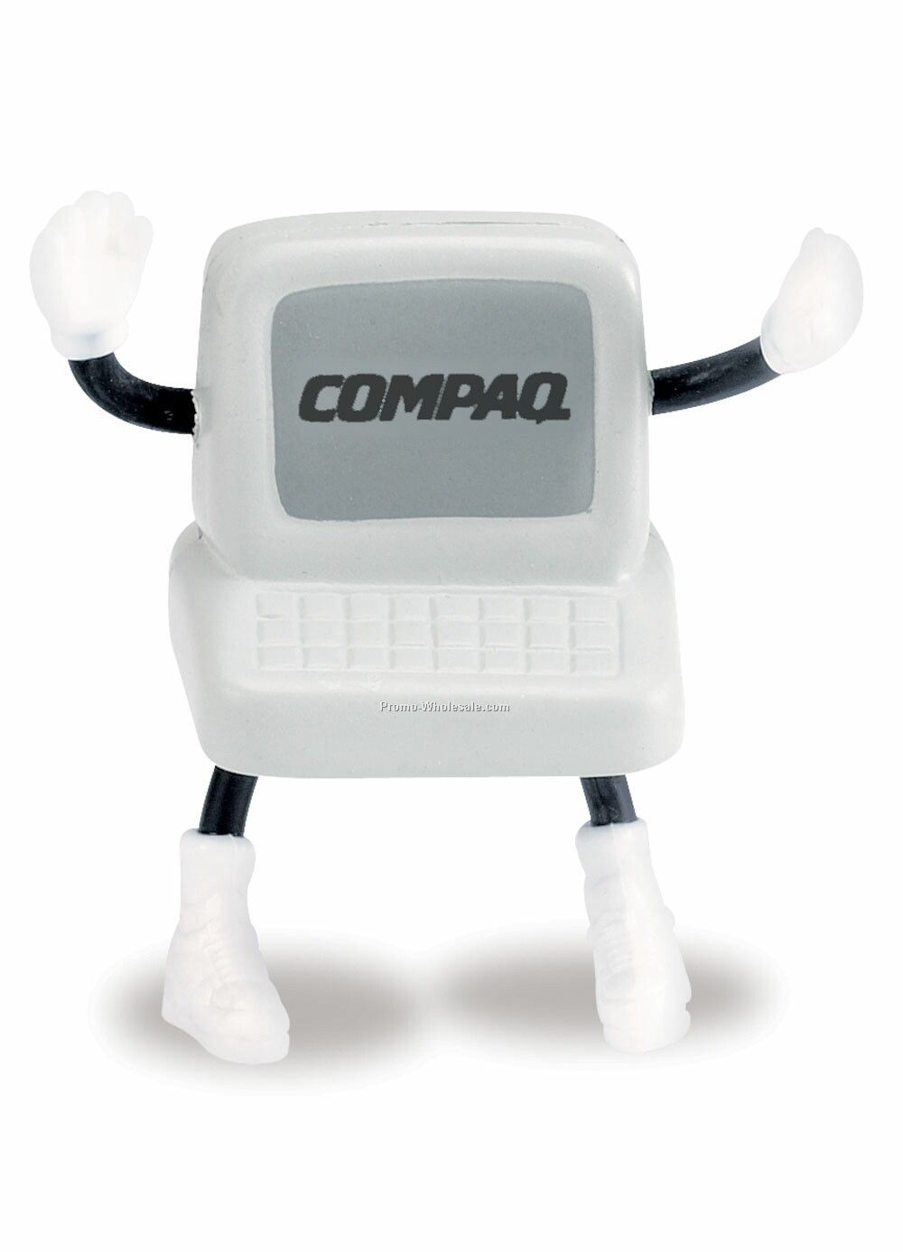 Computer Man Squeeze Toy