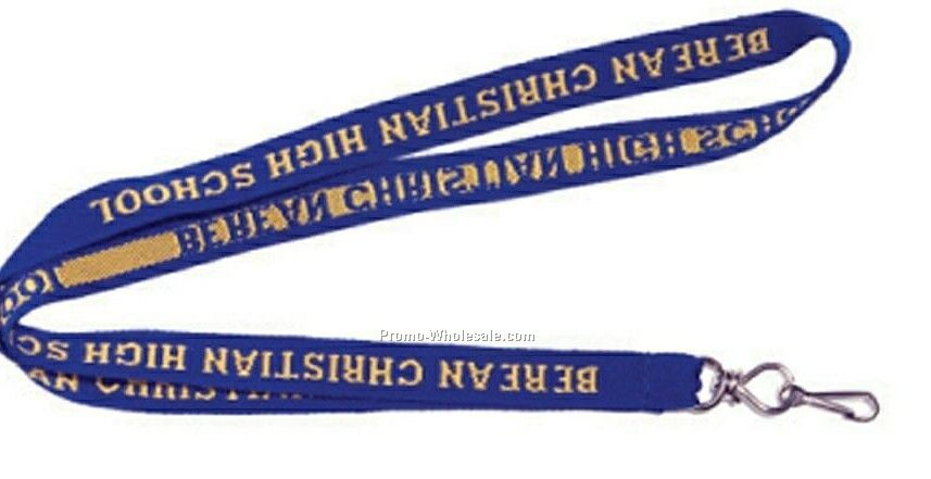 Embroidered Lanyard - 3/4""