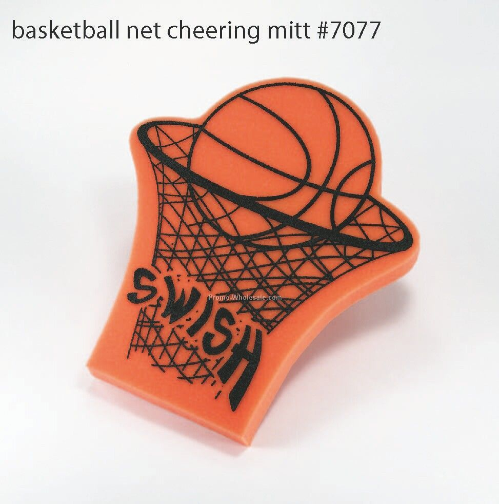 Foam Basketball Net Cheering Mitt