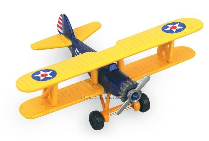 "Hot Wings Pt-17 High Flyer Hot Wings Pt-17 High Flyer 5"" Airplane"