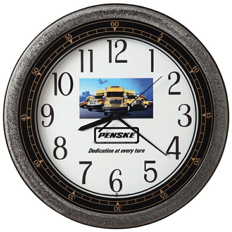 Howard Miller Showtime Wall Clock (Customized)