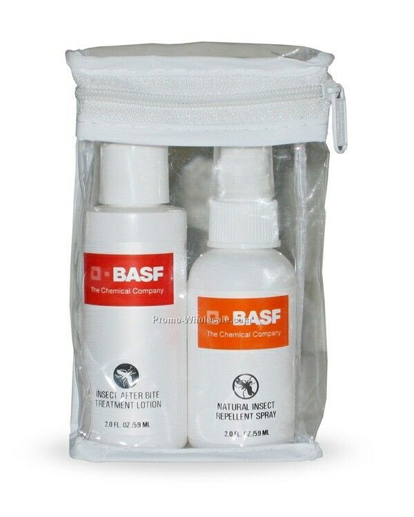 Insect Protection Kit In Clear Zip Lock Bag