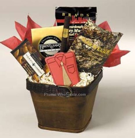 It's A Guy Thing Gift Basket