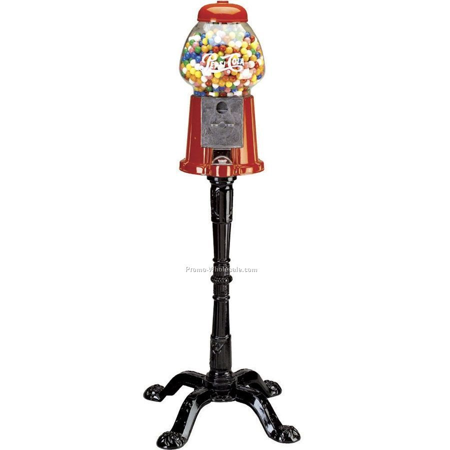 King Size Gumball Machine With Stand
