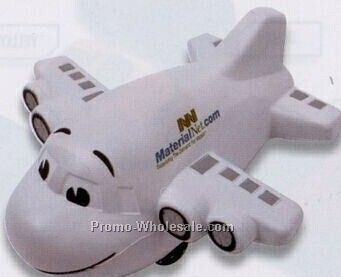 Large Airplane Squeeze Toy