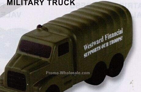 Military Truck Squeeze Toy