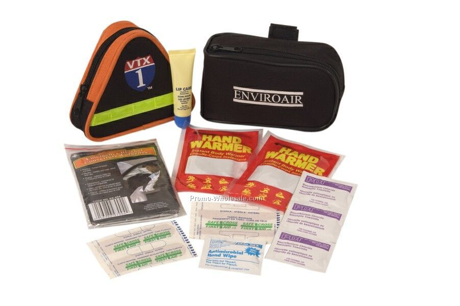 Personal Winter Kit In Heavy-duty Pouch With Velcro Strap
