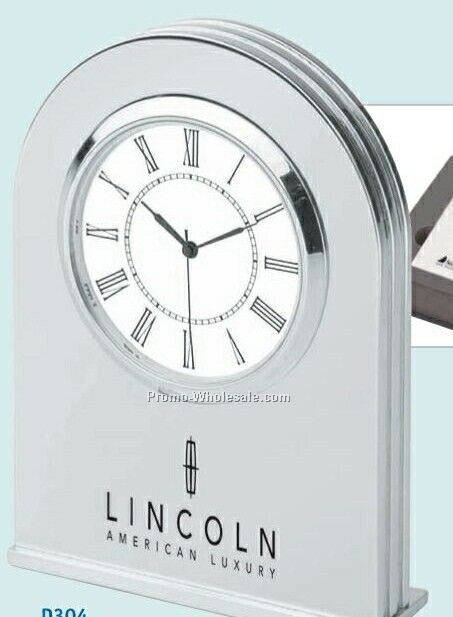 Platinum Dome Clock